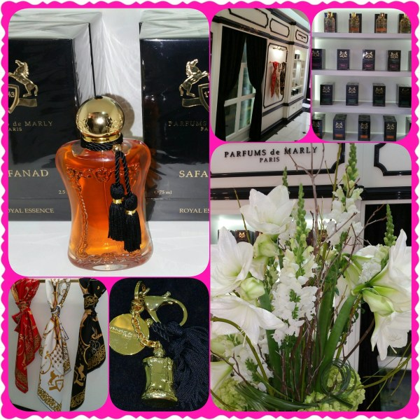 collage parfums de marly boutique in NYC
