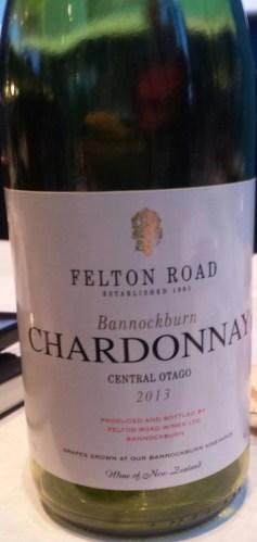 felton road winery chardonnay