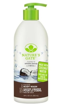 natures gate coconut body wash