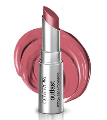 cover girl outlast pink pow lipstick