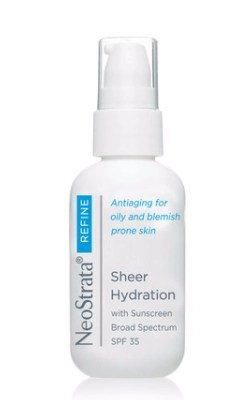 neostrata sheer hydration with sunscreen sunblock SPF 35