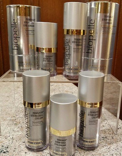 the tensage line of skincare from Biopelle