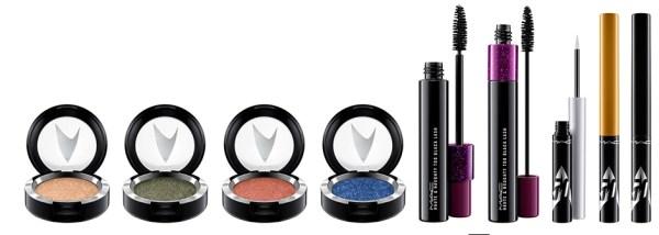 MAC Cosmetics Star Trek Collection eye shadow mascara liner