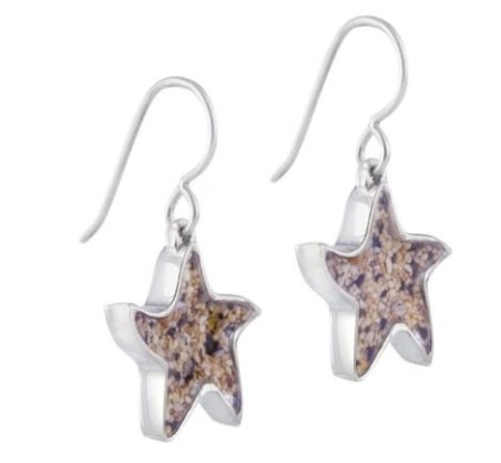 starfish earrings from Dune Jewelry