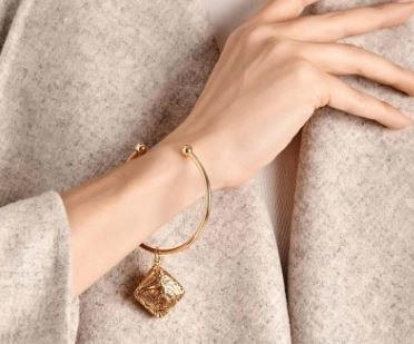 lisa-hoffman-wanderlust-cuff-bracelelt-on-an-arm Lisa Hoffman Fragrance Jewelry