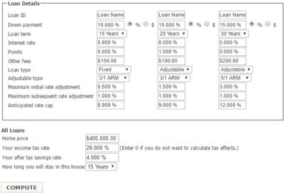 Top 6 Best Mortgage Comparison Calculators   Ranking   Top Calculators to Compare 10-, 15-, 20 ...