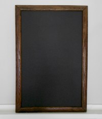 barn wood chalkboard for rent