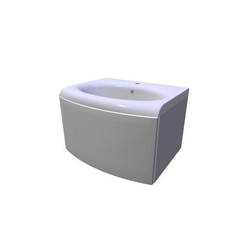 Sds evolution se zasuvkou (Ravak \/ Badezimmer-möbel - evolution - badezimmer 3d modelle