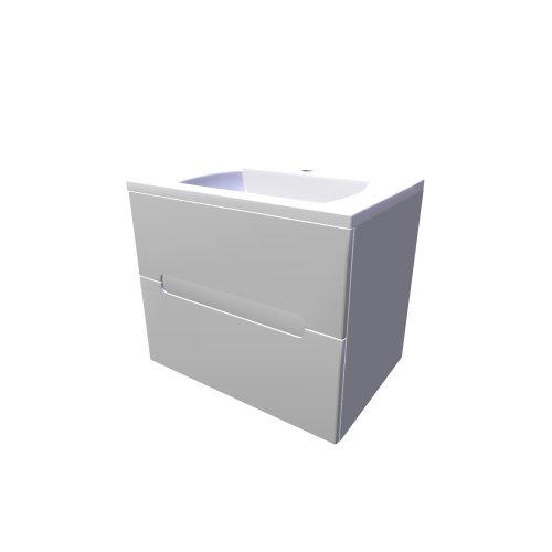 Sd classic ii asymetric (Ravak \/ Badezimmer-möbel - classic) - AEC - badezimmer 3d modelle