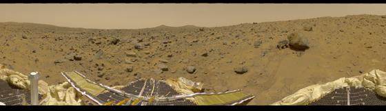 01 Panorama Mars Pathfinder - Marte - NASA - AECC - Mrgorsky - 560x162px