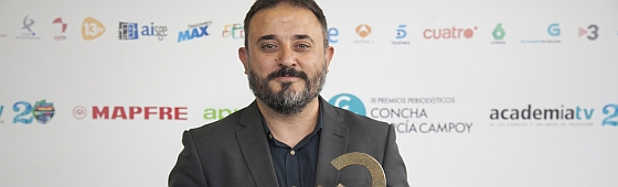 Antonio Martinez Ron premio Concha García Campoy 560