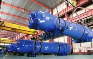 Generadores de vapor para centrales nucleares. Foto: ENSA