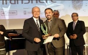 Antonio Martínez, socio de la AECC, recibió el 13 de febrero el III Premio Transfiere.