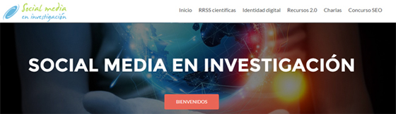 social media en investigación blog