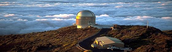 telescopio observatorio Roque de los muchachos home