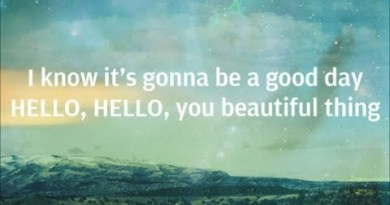 Jason Mraz – It's Gonna Be A Good Day (Hello, You Beautiful Thing)