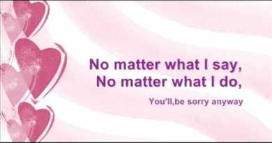 Tata Young – Sorry Anyway