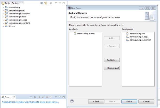 Configure Aem Plugin For Eclipse Aem Cq5 Tutorials