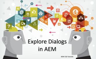 create dialogs aem