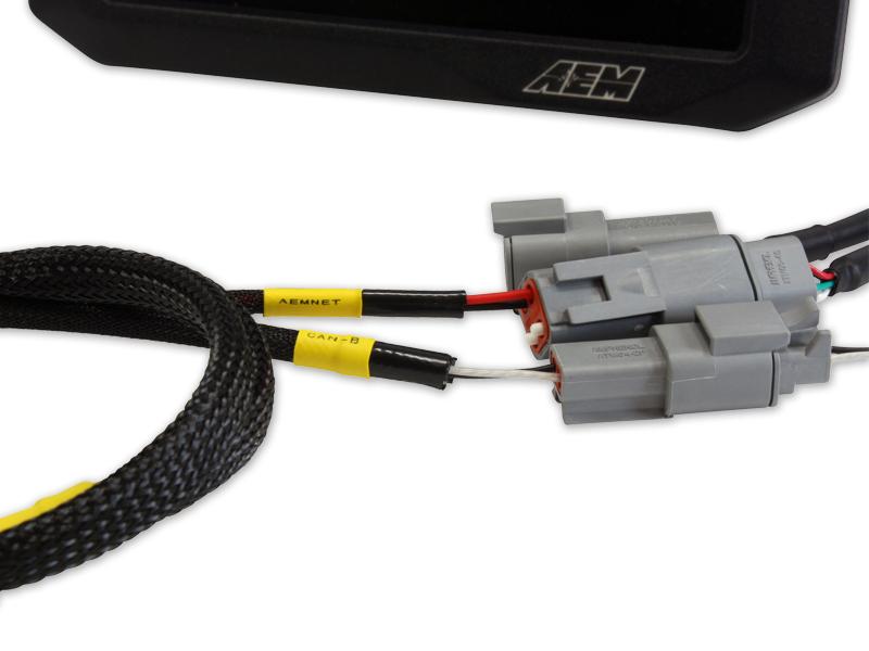 CD Dash MSD Atomic TBI PNP Adapter Harness AEM