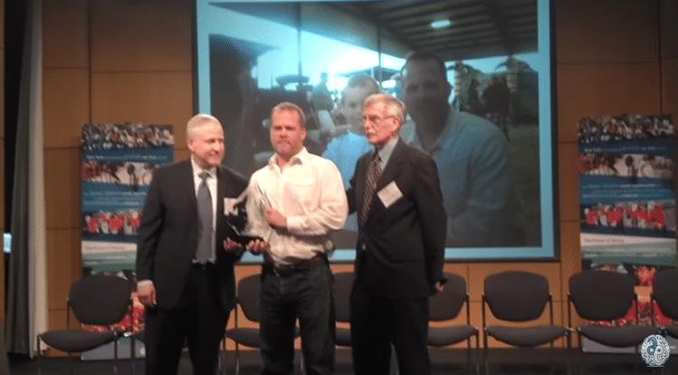 Ron White Memorable American Award at USA Memory Championship