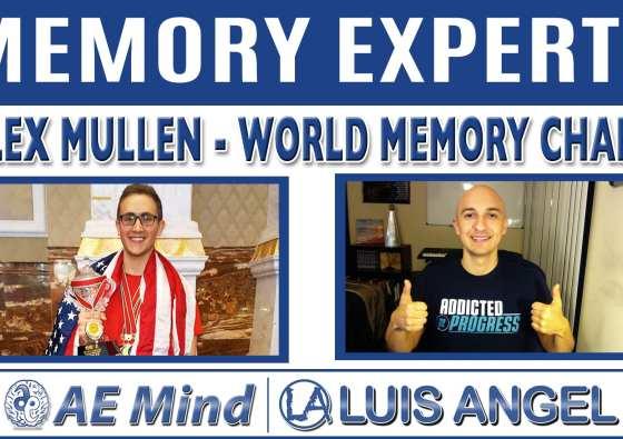 Alex Mullen Luis Angel Memory Experts AE Mind