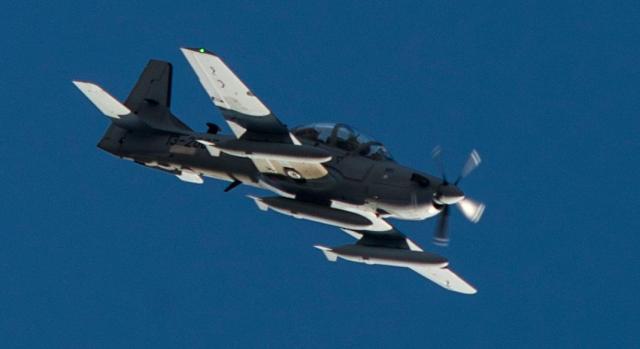 A-29 Super Tucano na chegada ao Afeganistao - foto 4 USAF