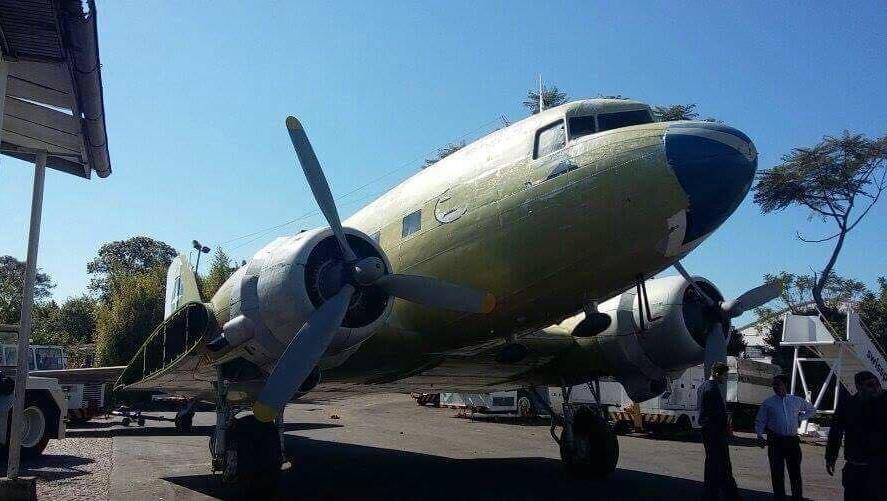 Aereo Privato Ac Dc : Avião da varig é restaurado e aberto para visitação em