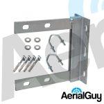 AerialGuy - 6x6 Galvanised Wall Bracket Kit
