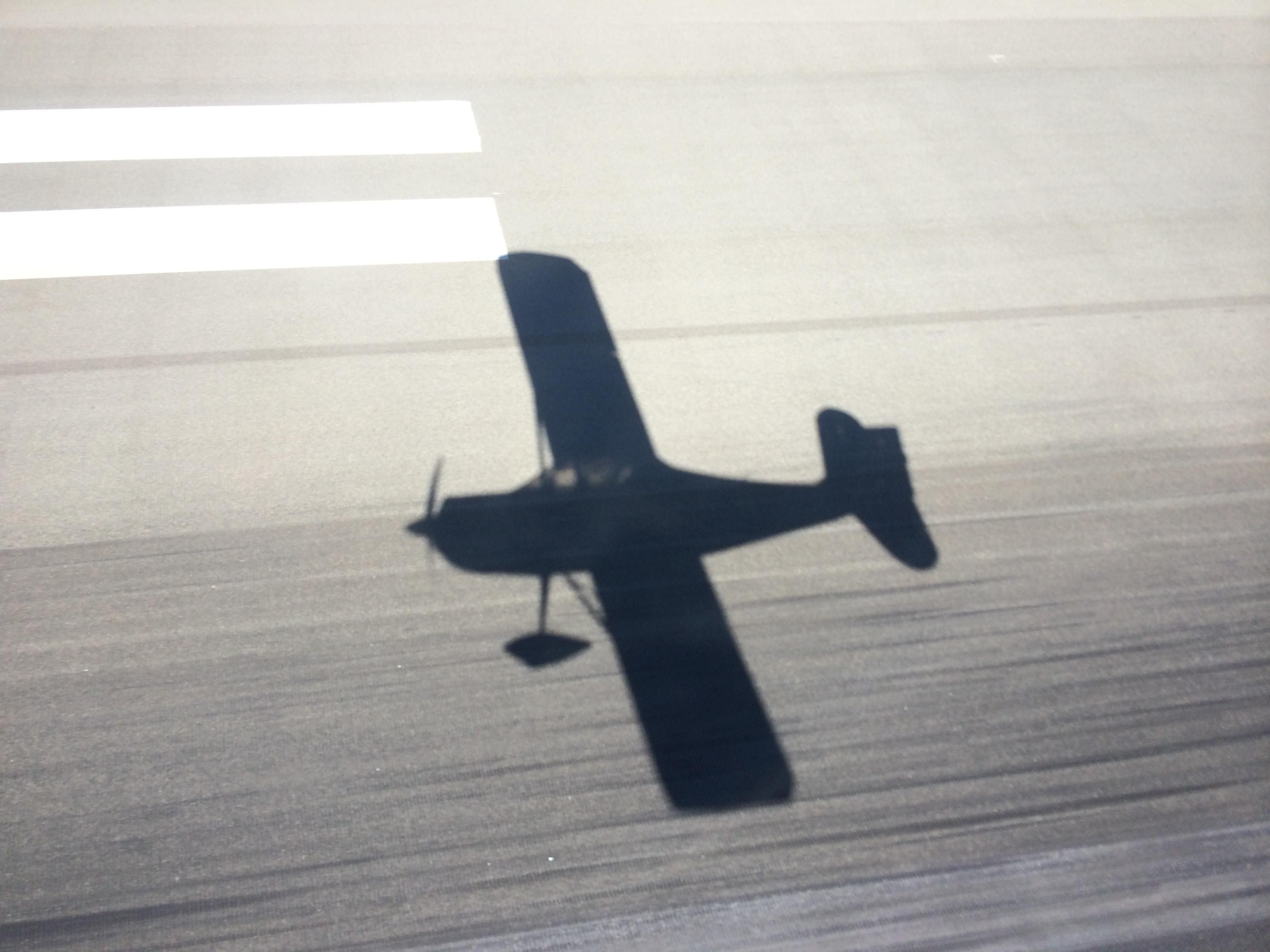 Tailwheel takeoff