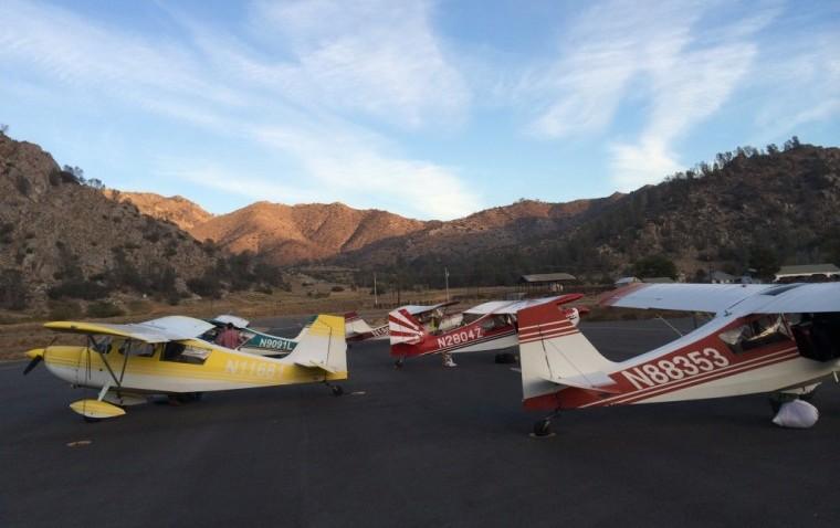 AeroDynamic family outing at Kern Valley