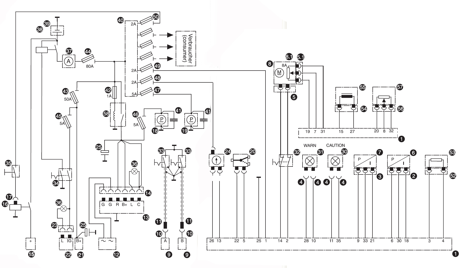 load cell wiring diagrams