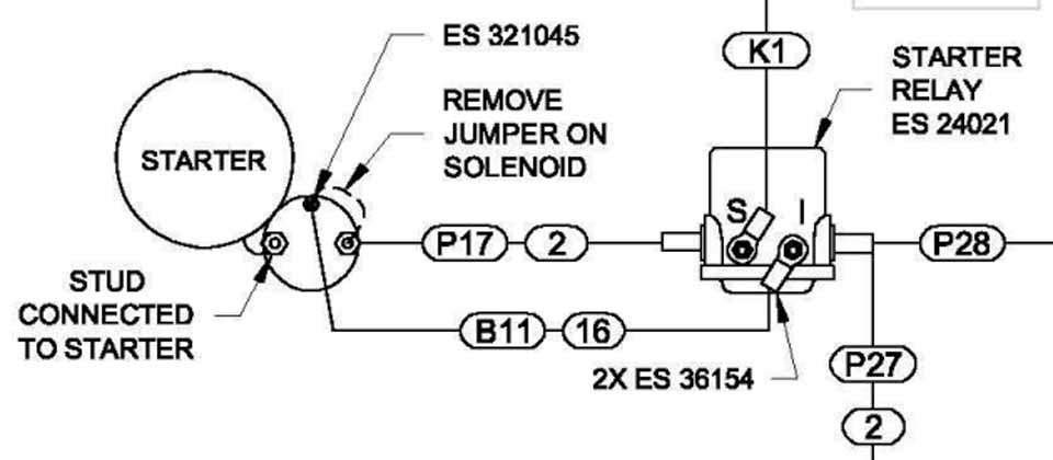 Basic Starter Switch Wiring Control Cables  Wiring Diagram