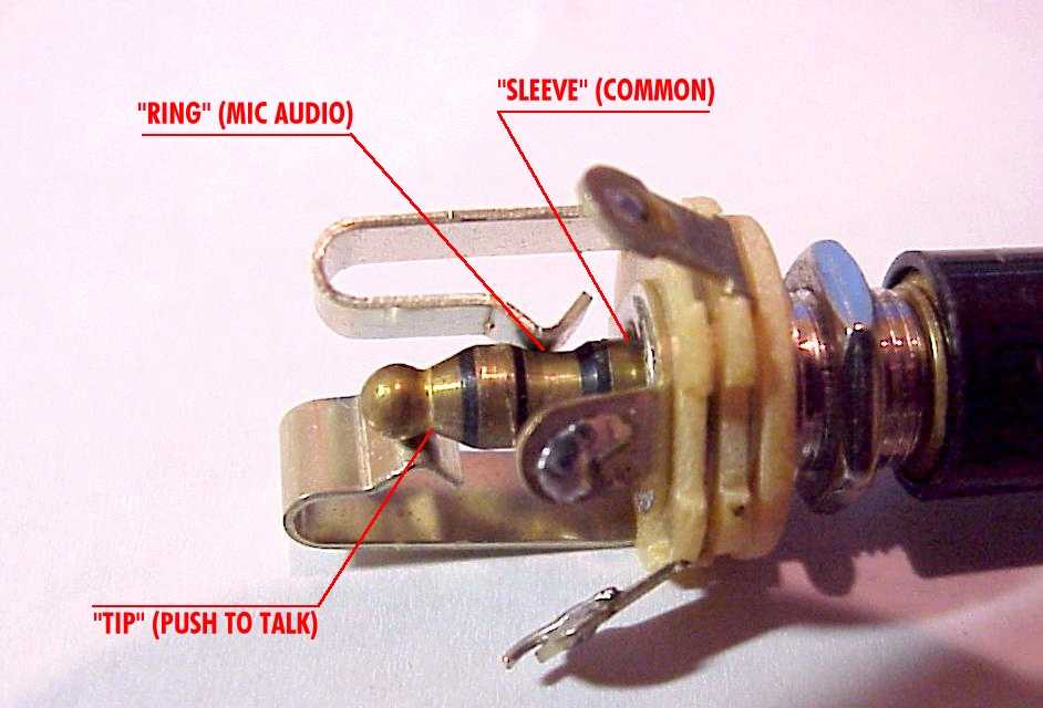 AeroElectric Connection - Aircraft Microphone Jack Wiring