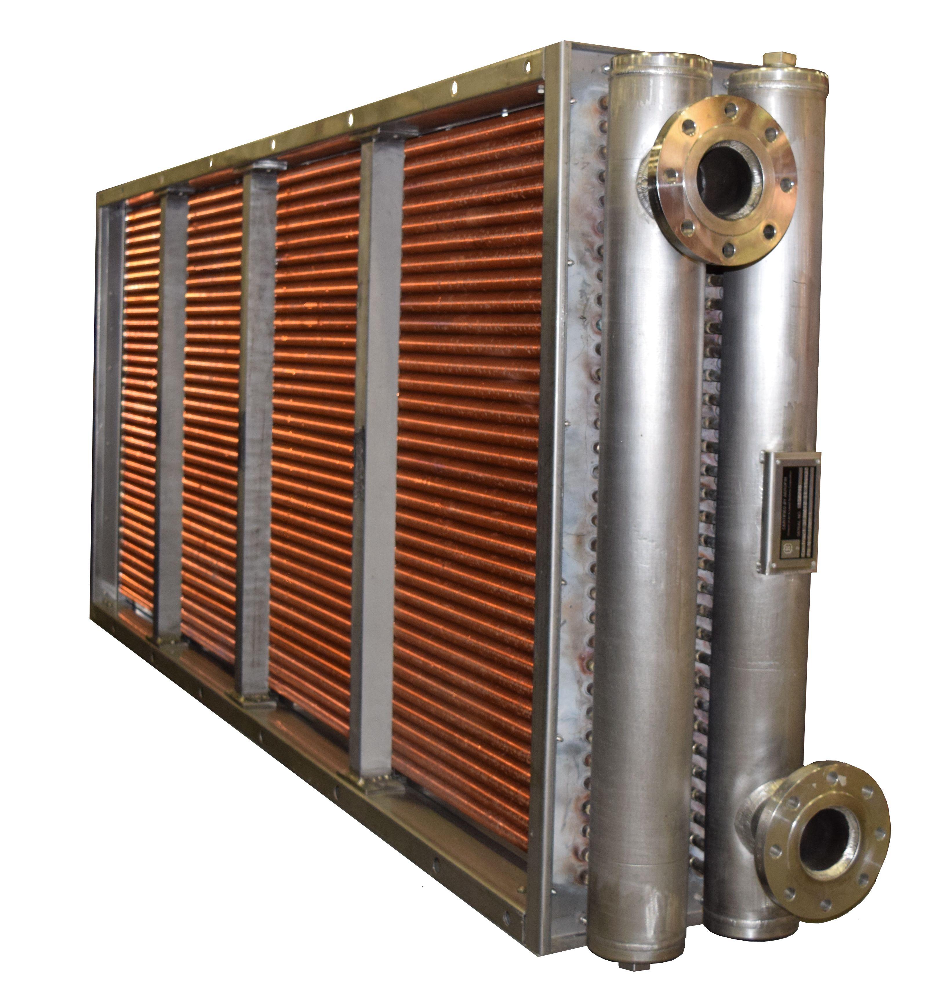 Spiral Fin Construction Aerofin Heat Transfer Products