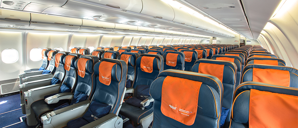 Economy Class On Board Aeroflot