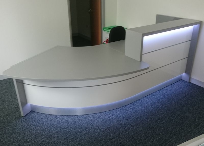 Reception Furniture Projects Completed By Aerofoil Design