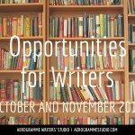Opportunities for Writers: October and November 2014
