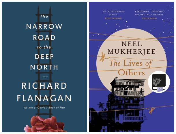 Man Booker Prize 2014 - Richard Flanagan and Neel Mukherjee