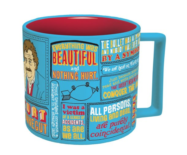 Christmas Gifts for Writers - Kurt Vonnegut Literary Mug