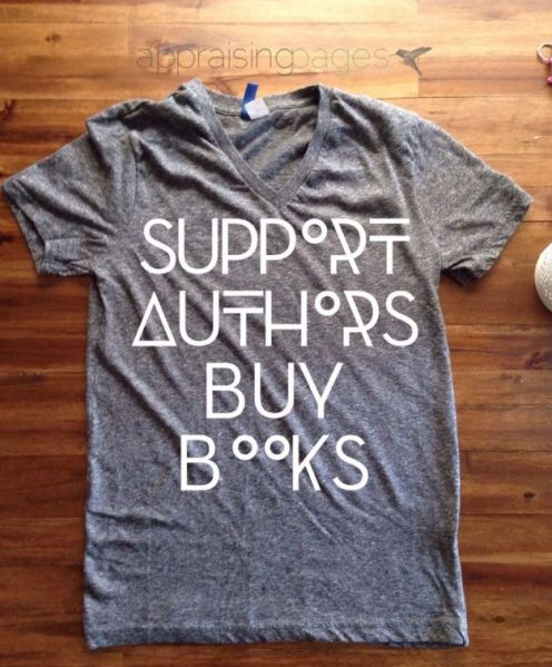 Support Authors T-shirt