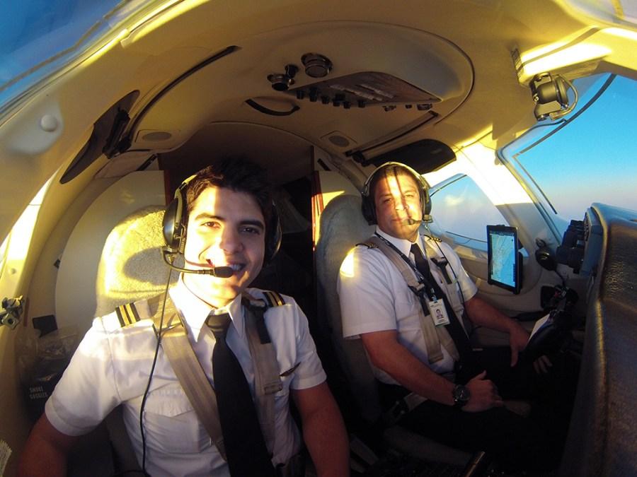 Entrevista com o piloto brasileiro Dayv Franco. GOPR02121