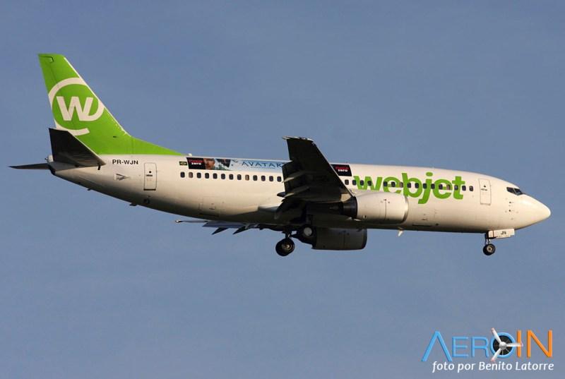 [Brasil] Logojets – outdoors aéreos brasileiros. PR-WJN-2