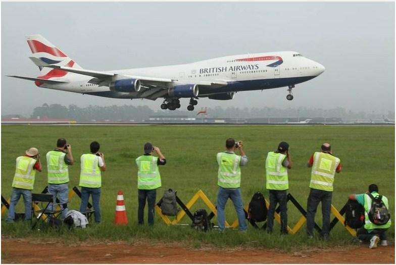 [Brasil] GRU Airport inicia nova fase de cadastro de spotters. BAlanding1
