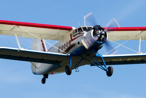 © Adam Duffield • Duxford Air Show 2012 • Duxford Airfield, UK • AN-2 - HA-MKF