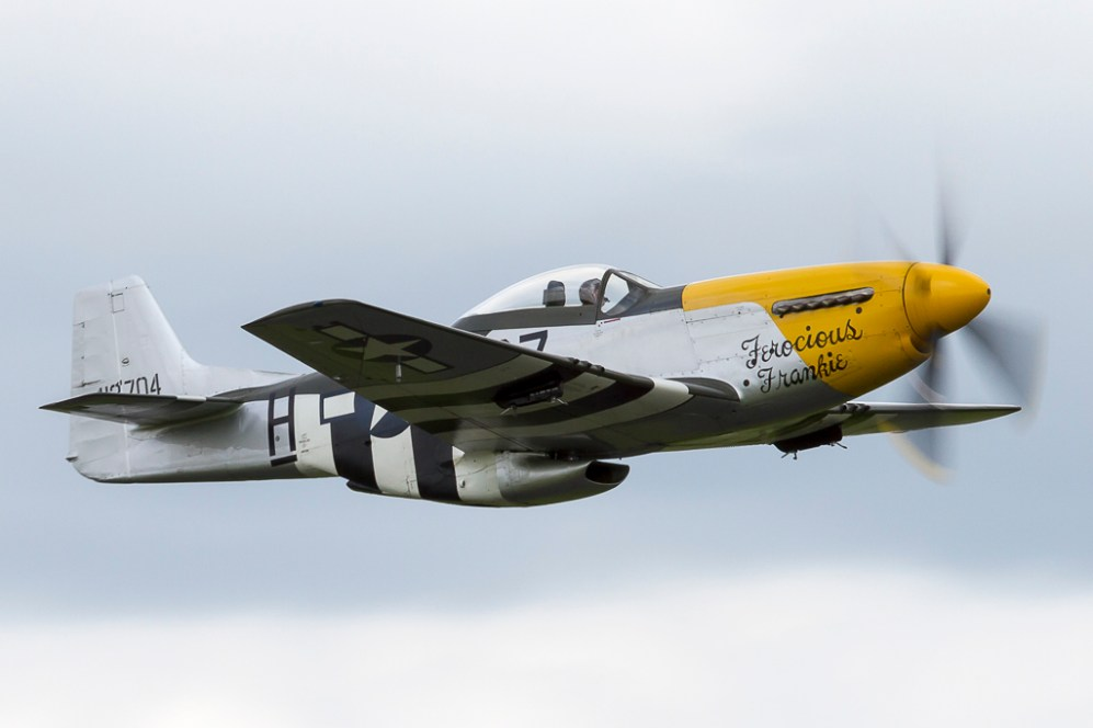 © Adam Duffield - North American P-51D Mustang • Old Flying Machine Company • Abingdon