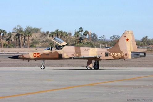 © Mark Forest - United States Marine Corps • F-5 Tiger II • Marine Corps Air Station Yuma, Arizona