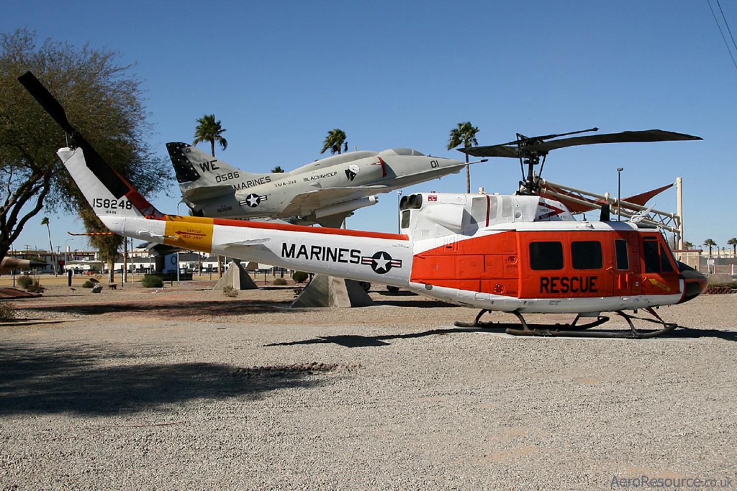 © Stu Skelton - United States Marine Corps • HH-1N Huey • Marine Corps Air Station Yuma, Arizona