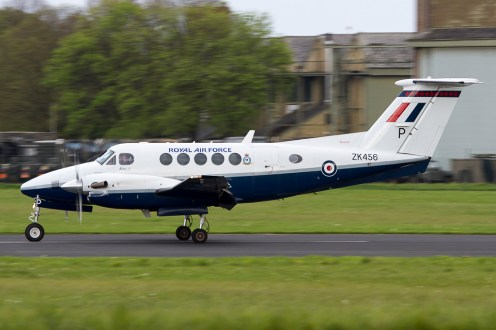© Adam Duffield - Beech B.200 King Air • Royal Air Force • Abingdon