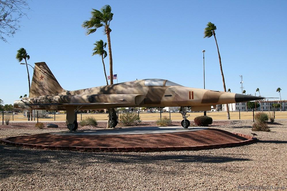 © Stu Skelton - United States Marine Corps • F-5E Tiger II • Marine Corps Air Station Yuma, Arizona